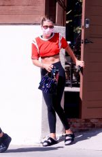 Sofia Richie Heads to a yoga session with a friend in West Hollywood