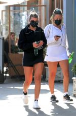 Sofia Richie Returns to her car after lunch with friends at Croft Alley in Beverly Hills