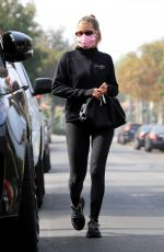 Sofia Richie Spotted leaving a yoga class in West Hollywood