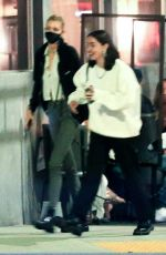 Stella Maxwell Stepping out with a lady friend while out in LA