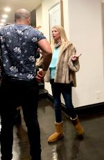 Tara Reid Enjoys a night with friends at a poker party in Beverly Hills
