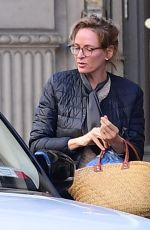 Uma Thurman Was seen out in New York