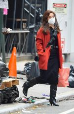 Vanessa Hudgens Again On the set of Tick, Tick...Boom! in NY