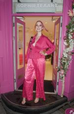 Victoria Clay At Private View of Sophie Tea Art: Send More Nudes in London