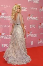 Victoria Silvstedt At Red Carpet Gala Evening and Awards Ceremony during the 17. Monte-Carlo Film Festival De La Comedie in Monaco