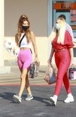 Violet Benson and Francesca Farago stock up on items for their Bachelorette pad in LA