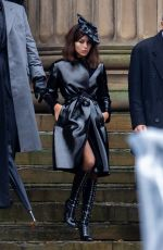 Zoë Kravitz On the set of The Batman in Liverpool