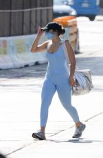 Addison Rae Heads back to her car after getting her workout done in West Hollywood