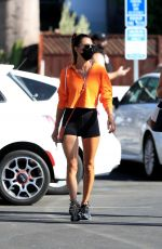 Alessandra Ambrosio Heads to the gym after a quick Mexican getaway