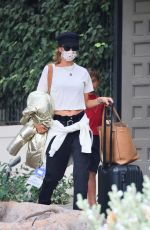 Alessandra Ambrosio Leaving her home in Los Angeles