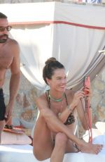 Alessandra Ambrosio Models her famous curves during a getaway vacation in Cabo San Lucas, Mexico