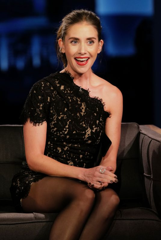 Alison Brie Appearing on Jimmy Kimmel Live