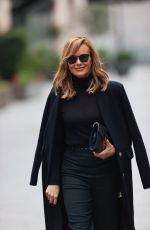 Amanda Holden Leaving Heart FM radio in London