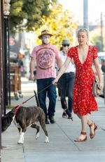 Amber Heard At a farmers market in Los Angeles