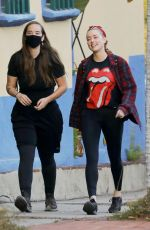 Amber Heard Out hiking in Los Angeles
