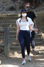 Ana De Armas Showing kind of a baby bump during hike in Hollywood