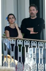 Ana de Armas Takes a break while on set in New Orleans