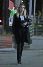 Ashley Benson Out at dinner in Los Angeles