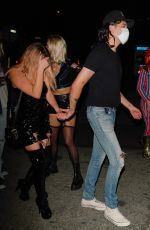 Ashley Benson Out on Halloween in Los Angeles