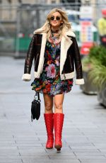 Ashley Roberts Pictured leaving the Global studio in London
