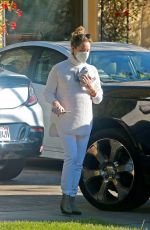 Ashley Tisdale Running errands in Los Angeles