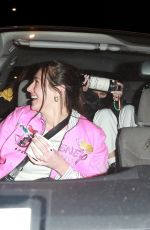 Bella Hadid Out enjoying a fun girls night out with her friends in Beverly Hills