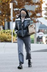 Camila Mendes Gets coffee in Vancouver