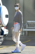 Cara Santana Sports a Nike outfit to the gym in West Hollywood for her mid-day workout