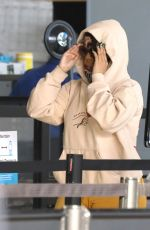 Cardi B Catches a flight out of L.A at LAX airport in Los Angeles