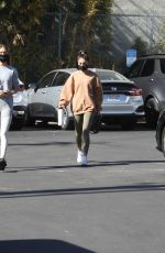 Chantel Jeffries Arrives to workout at the gym