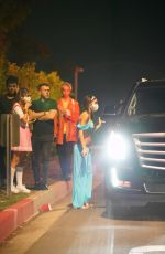 Chantel Jeffries Leaving an exclusive Halloween Party with her boyfriend in Los Angeles