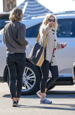 Chelsea Handler Has lunch at Blue Plate Oysterette in Santa Monica