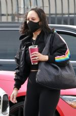 Cheryl Burke Arriving for practice at the dance studio on Saturday in Los Angeles