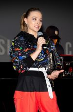 Chloe Grace Moretz At Shadow in the Cloud drive-in screening in LA