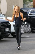 Chrishell Stause - Heading into the DWTS studio for dance pratice in Los Angeles