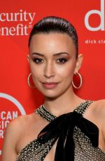 Christian Serratos At 2020 American Music Awards in Los Angeles