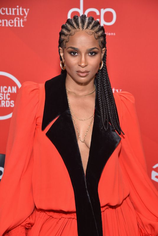 Ciara At American Music Awards at the Microsoft Theater in Los Angeles