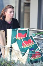 Coleen Rooney Enjoys a day of retail therapy shopping in Alderley Edge Cheshire