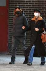 Diane Kruger And Norman Reedus are spotted on a arm-in-arm stroll in New York