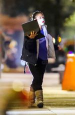 Drew Barrymore Walks through Central Park in NYC