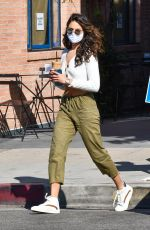 Eiza Gonzalez Makes a coffee run in West Hollywood