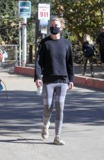 Ellen Pompeo Goes for a morning hike in Los Feliz