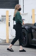 Ellen Pompeo Looks classy as she heads to a salon in Beverly Hills