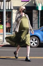 Emma Roberts Goes shopping with her mom in Los Angeles