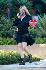 Emma Roberts Pays a visit to a friend in Los Angeles
