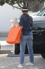 Emmy Rossum Out in Beverly Hills