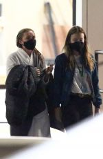 Florence Pugh and Olivia Wilde on the set of Don´t worry Darling in Los Angeles