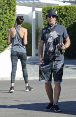 Gal Gadot Arrives home after running errands in Beverly Hills