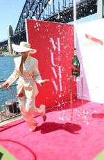 Georgia Fowler At G.H. Mumm champagne celebrates the Melbourne Cup at Pier One Sydney Harbour