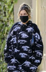 Hailey Bieber Out & about in West Hollywood